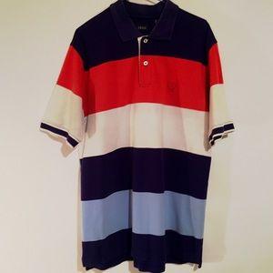 Vintage 90's IZOD Medium Color Block Polo
